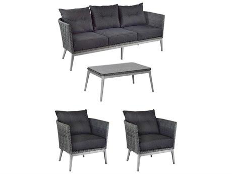 EMU Elly Aluminum Lounge Set PatioLiving