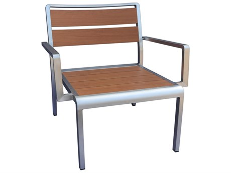 EMU SID Aluminum Stacking Lounge Chair PatioLiving