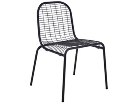 EMU Centina Steel Stacking Dining Side Chair PatioLiving