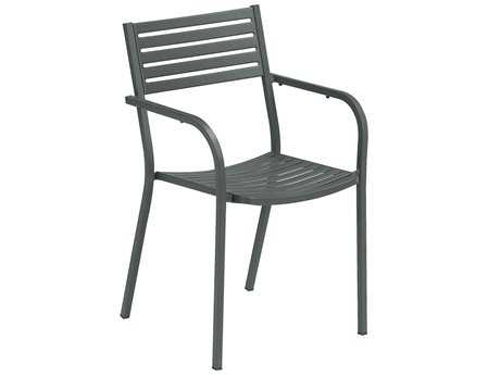EMU Segno Steel Stacking Arm Chair (Sold in 4)