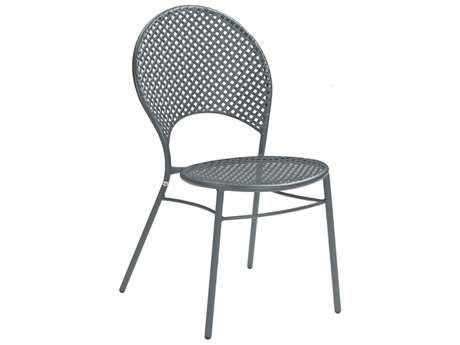 EMU Sole Steel Iron Stacking Dining Side Chair PatioLiving