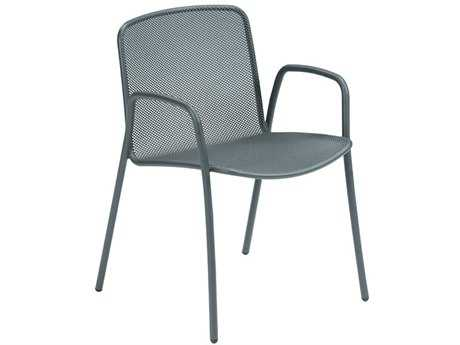 EMU Volta Steel Stacking Arm Chair (Sold in 4)