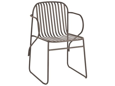 EMU Riviera Steel Stackable Dining Arm Chair