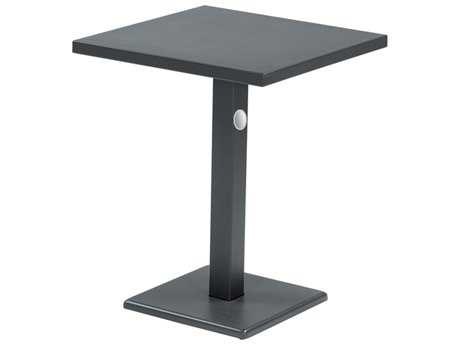 EMU Lock Steel 24 Square Dining Table