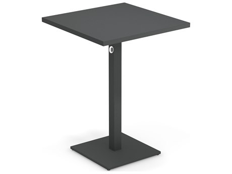 EMU Lock Steel 32 Square Bar Table