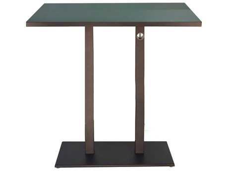 EMU Lock Steel 48 x 32 Rectangular Bar Table