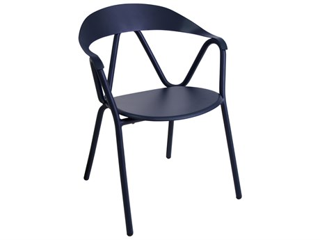 EMU Reef Aluminum Stackable Dining Arm Chair
