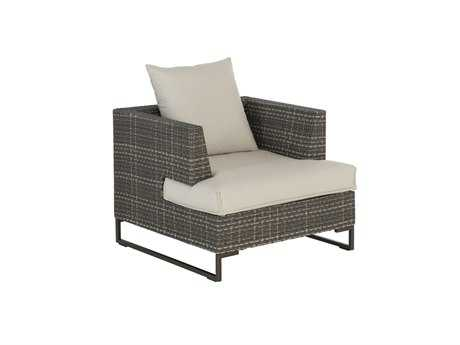 EMU Luxor Steel Wicker Lounge Arm Chair EM6540