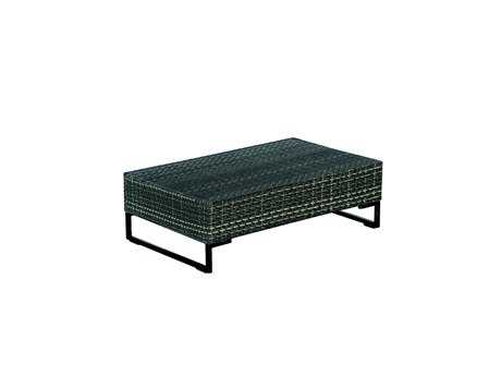 EMU Luxor Steel Wicker 39 x 24 Rectangular Coffee Table