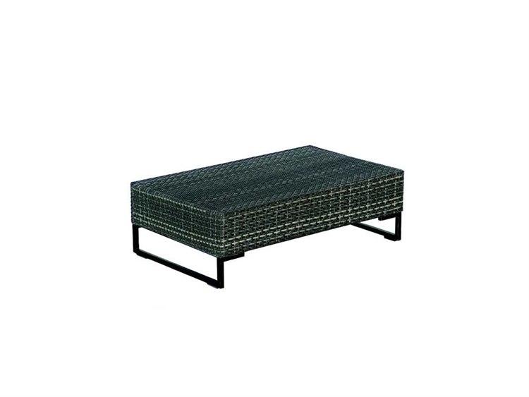 EMU Luxor Steel Wicker 39 x 24 Rectangular Coffee Table