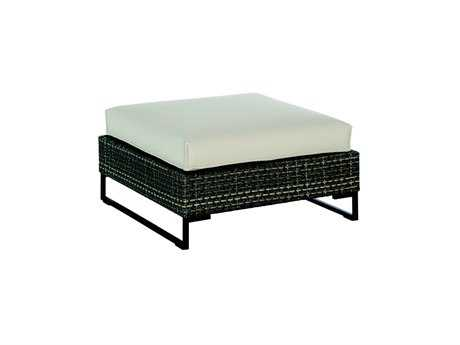 EMU Luxor Steel Wicker 33 Ottoman