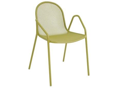 EMU Nova Steel Stackable Dining Arm Chair