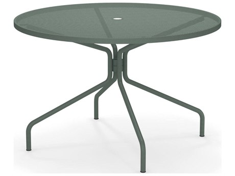 EMU Cambi Steel 48 Round Dining Table