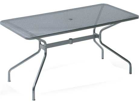 EMU Drink Steel 48 x 32 Rectangular Umbrella Table