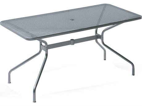 EMU Drink Steel 72 x 32 Rectangular Umbrella Table
