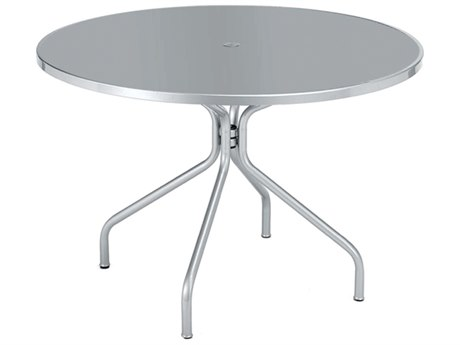 EMU Drink Steel 36 Round Umbrella Table