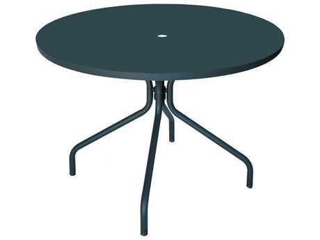 EMU Solid Steel 32 Round Umbrella Table PatioLiving