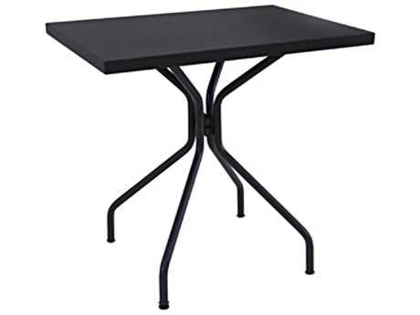 EMU Solid Steel 32 x 24 Rectangular Umbrella Table
