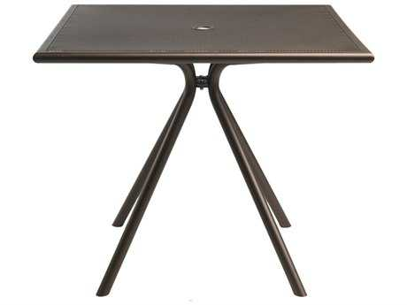 EMU Forte Steel 36 Square Umbrella Table