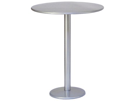 Bistro Steel 32 Round Bar Table