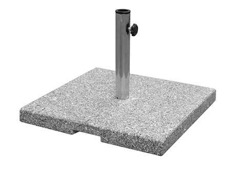 EMU Shade Granite 23''Wide Square Umbrella Base