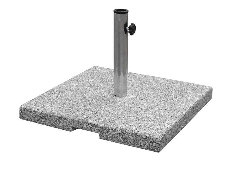 EMU Shade Granite 23''Wide Square Umbrella Base PatioLiving