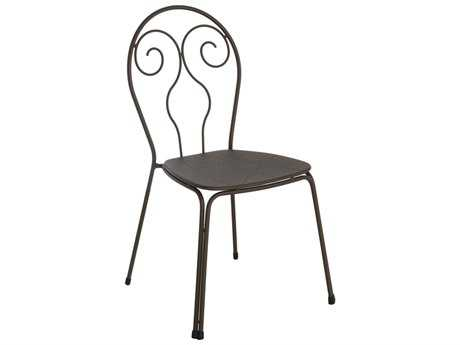 EMU Caprera Steel Stacking Side Chair (Sold in 4)