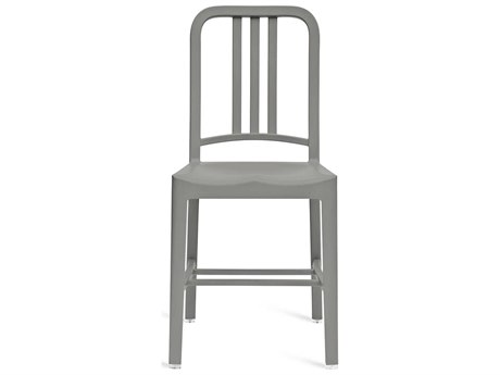 Emeco Outdoor Navy Recycled Plastic Flint Dining Side Chair