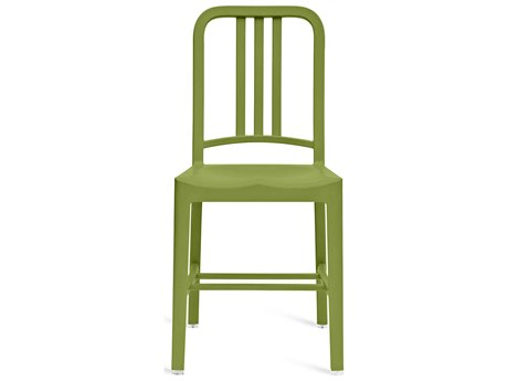Emeco Outdoor Navy Recycled Plastic Grass Dining Side Chair