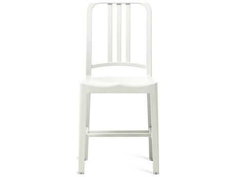 Emeco Outdoor Navy Recycled Plastic Snow  Dining Side Chair