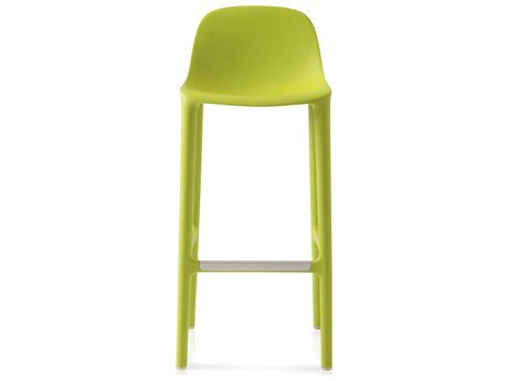 Emeco Outdoor Broom Reclaimed Green 30'' High Bar Stool