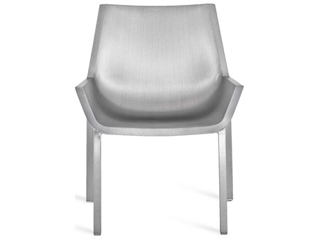 Emeco Outdoor Sezz By Christophe Pillet Brushed Aluminum Lounge Chair PatioLiving