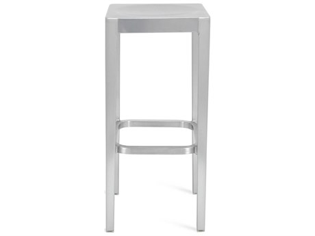 Emeco Outdoor Emeco Brushed Aluminum 30'' High Bar Stool PatioLiving
