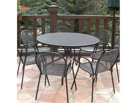 EMU Ronda Steel Dining Set