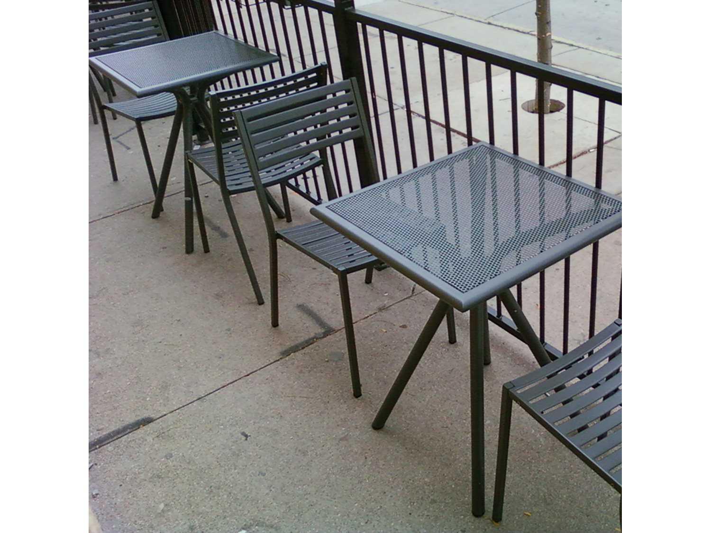 EMU Segno Steel Dining Set ...