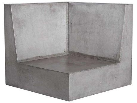 Elk Outdoor Lannister Polished Concrete Lounge Chair PatioLiving