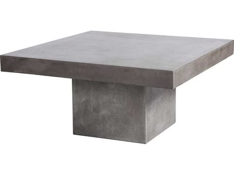 Elk Outdoor Millfield Polished Concrete 43'' Wide Square Coffee Table (Sold in 2) EO157051