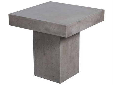 Elk Outdoor Millfield Polished Concrete 24'' Wide Square End Table (Sold in 2) EO157052