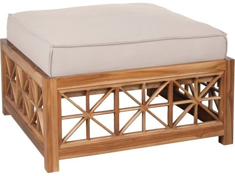 Elk Outdoor Guildmaster Cream Ottoman Cushion Replacement Cushion