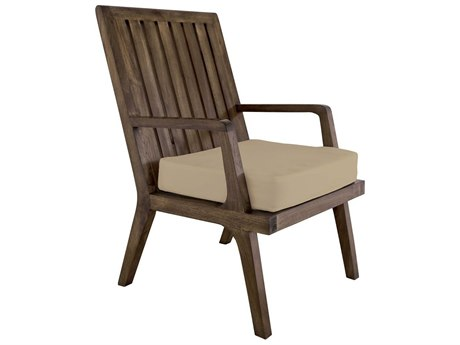 Elk Outdoor Teak Cream Chair Seat Replacement Cushion