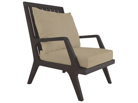 Elk Outdoor Cream Chair Seat & Back Replacement Cushions