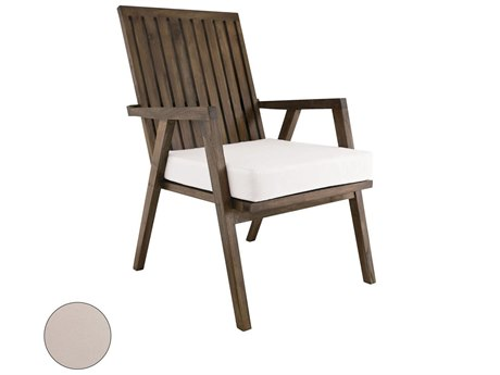Elk Outdoor Teak Garden Cream Chair Seat Replacement Cushion