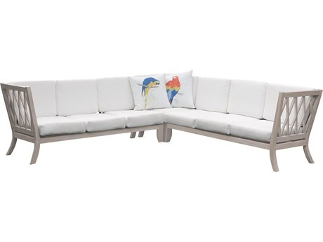 Elk Outdoor White Sofa Seat & Back Replacement Cushions