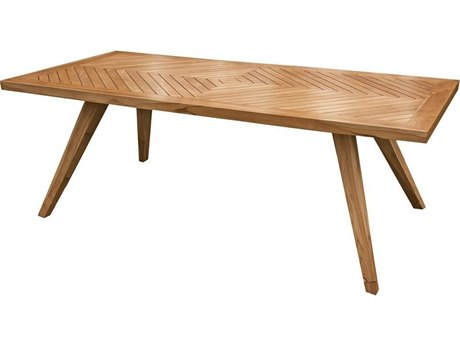 Elk Outdoor Teak Euro Oil 90'' Wide Rectangular Dining Table
