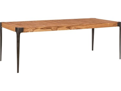 Elk Outdoor Euro Teak Oil 89'' Wide Rectangular Dining Table