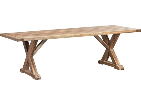 Elk Outdoor The Grove Euro Teak Oil 96'' Wide Rectangular Dining Table