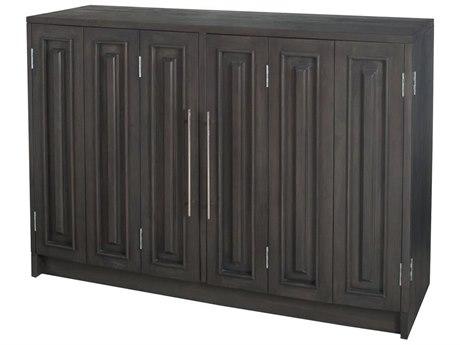 Elk Outdoor Teak Antique Smoke 60'' Wide Wood Rectangular Console Table