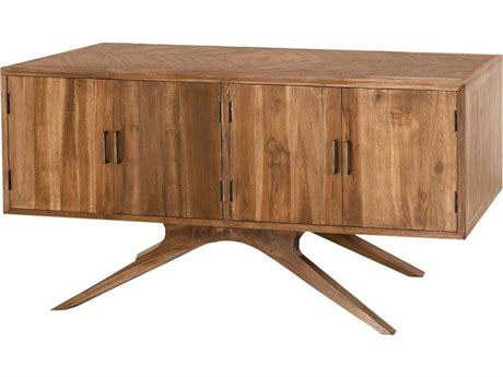 Elk Outdoor Teak Euro Oil 60'' Wide Rectangular Console Table