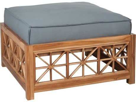 Elk Outdoor Euro Teak Oil Ottoman