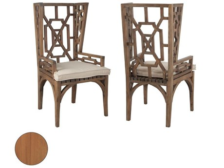 Elk Outdoor Teak Euro Oil Dining Chairs (Set of 2) PatioLiving